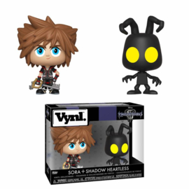 Disney Kingdom Hearts: Sora + Shadow Heartless Vynl 2 Pack