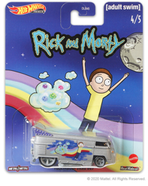 Rick and Morty:  Volkswagen Drag Bus Hot Wheels (4/5)