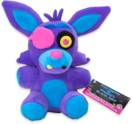 FNAF: Foxy Knuffel Blacklight (Paars) Supercute Plush