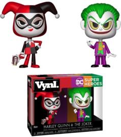 DC Superheroes: Harley Quinn + The Joker 2 Pack Vynl