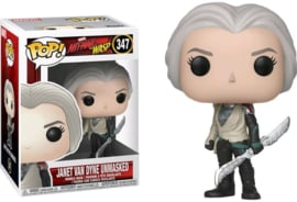 Marvel Ant-Man and the Wasp: Janet van Dyne (Unmasked) Funko Pop 347