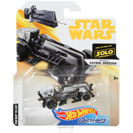 Star Wars Solo: Patrol Speeder Hot Wheels