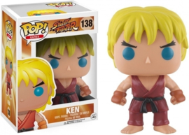 Street Fighter: Ken Funko Pop 138