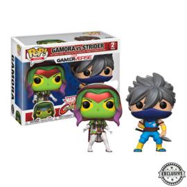 Marvel Gamerverse: Gamora vs Strider Funko Pop 2 Pack