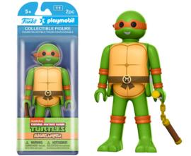 Funko x Playmobil: Michelangelo Figuur