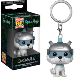 Rick and Morty: Snowball Pocket Pop Keychain