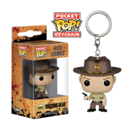 The Walking Dead: Rick Grimes Pocket Pop Keychain