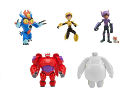 Disney Big Hero 6: Speelfiguur Assorti