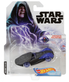 Star Wars: Emperor Palpatine Hot Wheels