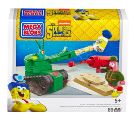 Spongebob Mega Bloks Pickle Tank Attack