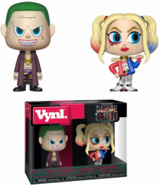 DC Suicide Squad: The Joker + Harley Quinn Vynl 2 Pack