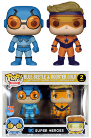 DC Super Heroes: Blue Beetle & Booster Gold Funko Pop 2 Pack