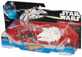 Star Wars: First Order Tie Fighter vs Millenium Falcon