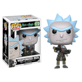 Rick and Morty: Weaponized Rick Funko Pop 172