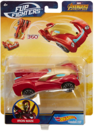 Marvel Hot Wheels Flip Fighters: Iron Man