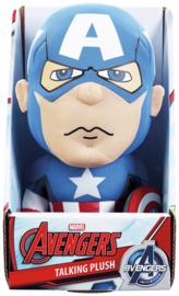Captain America Talking Plush