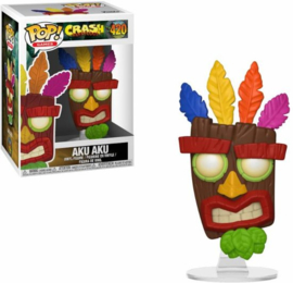 Crash Bandicoot: Aku Aku Funko Pop 420