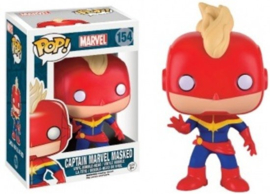Marvel: Captain Marvel Masked Funko Pop 154