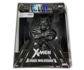 Marvel X-Men Logan Wolverine Metal Die Cast (black)