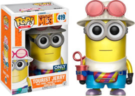 Despicable Me 3: Tourist Jerry Metallic Funko Pop 419
