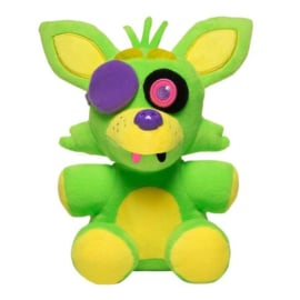 FNAF: Foxy Knuffel Blacklight (Groen) Supercute Plush