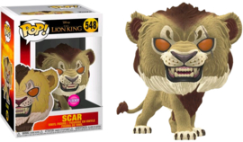 Disney The Lion King: Scar (Flocked) Funko Pop 548