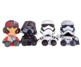 Kylo Ren - Poe Dameron -Captain Phasma - First Order Stormtrooper Knuffel