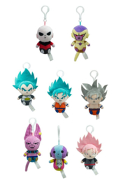 Dragon Ball Super Pluche Bagclip