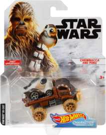 Star Wars: Chewbacca and Porg Hot Wheels
