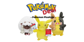 / Pokémon Deal: Plushies 3 Pack \