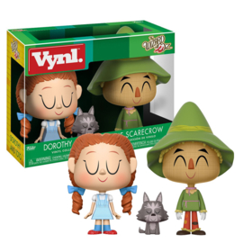 The Wizard of Oz: Dorothy and Scarecrow 3 Pack Vynl.
