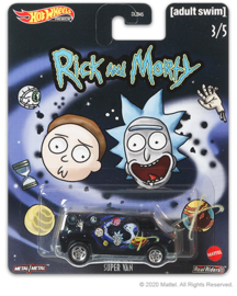 Rick and Morty:  Super Van Hot Wheels (3/5)