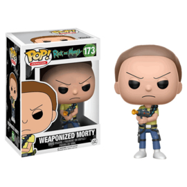 Rick and Morty: Weaponized Morty Funko Pop 173
