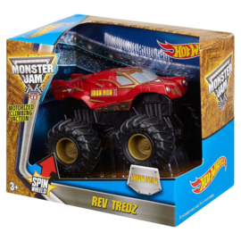Monster Jam Rev Tredz: Iron Man