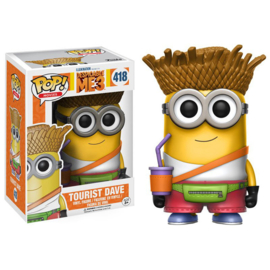 Despicable Me: Tourist Dave Funko Pop 418