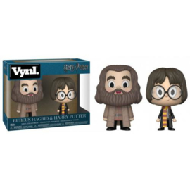 Harry Potter: Rubeus Hagrid & Harry Potter Vynl 2Pack