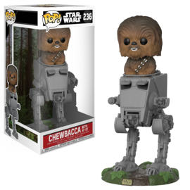 Star Wars: Chewbacca with AT-ST Funko Pop 236