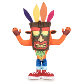 Crash Bandicoot Knuffel (Aku Aku)