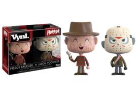 Horror: Freddy and Jason 2 Pack Vynl.
