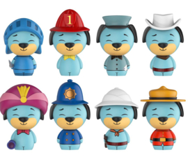 Huckleberry Hound Dorbz 8 Pack 1500psc Limited