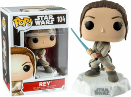 Star Wars: Rey with Lightsaber Funko Pop 104