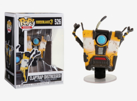 Borderlands 3: Claptrap (Distressed) Funko Pop 526