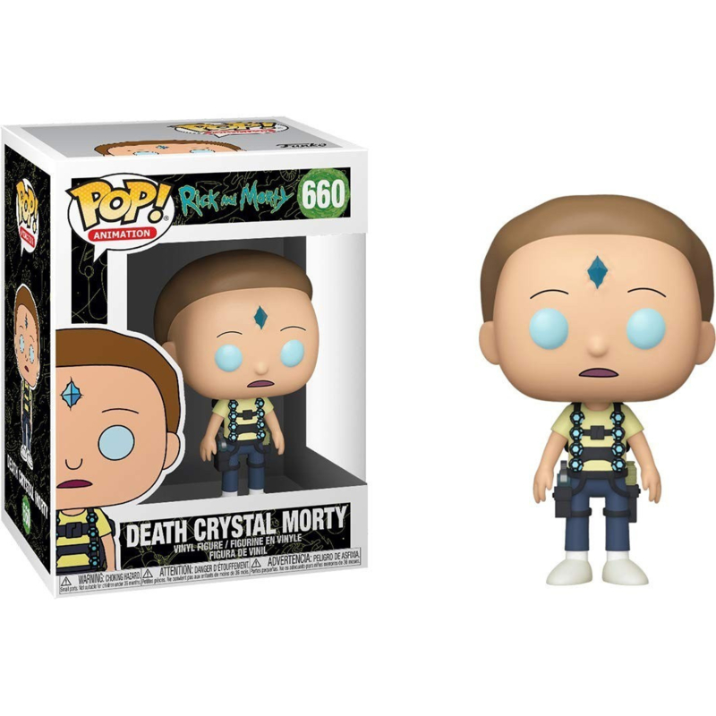 Rick and Morty: Death Crystal Morty Funko Pop 660