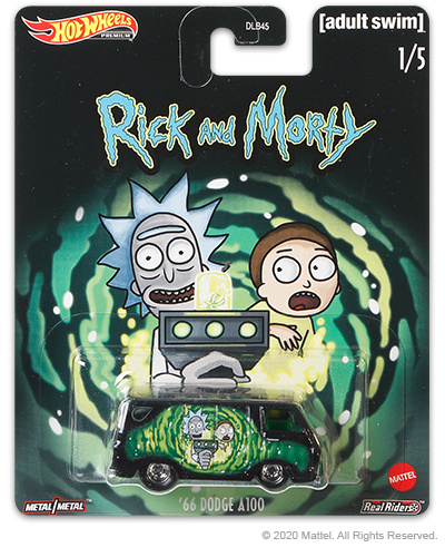 Rick and Morty: '66 Dodge A100 Hot Wheels (1/5)