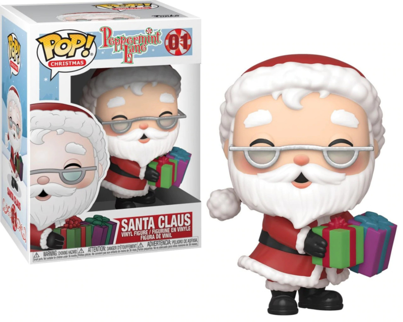 Peppermint Lane: Santa Claus Funko Pop 01