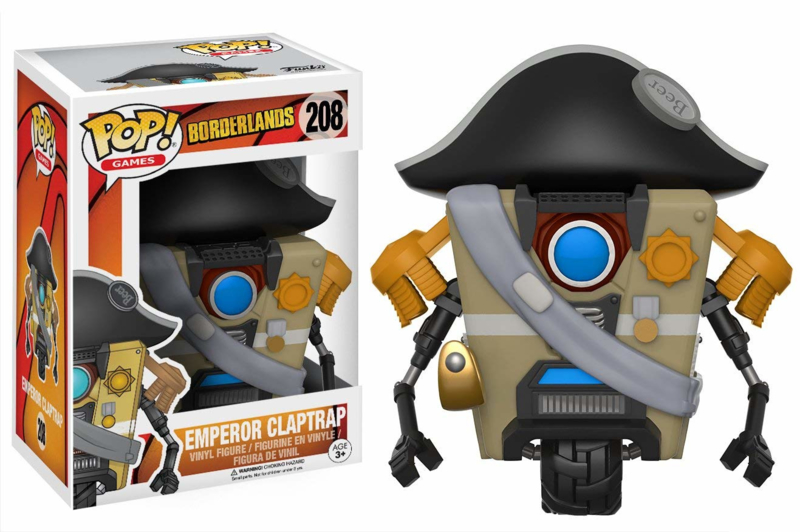 Borderlands: Emperor Claptrap Funko Pop 208