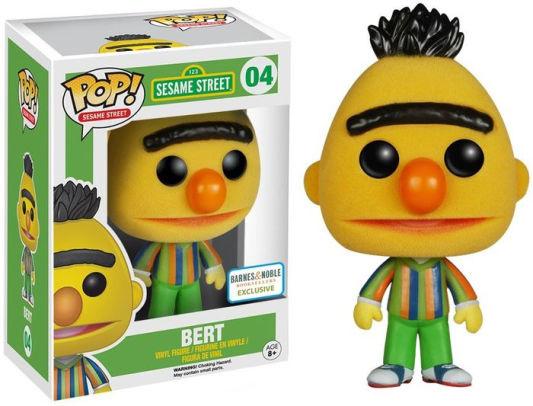 Sesame Street: Bert (Flocked) Funko Pop 04