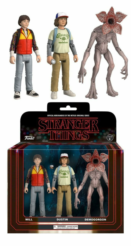 Stranger Things Action Figures 3 Pack