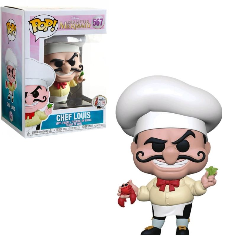 Disney The Little Mermaid: Chef Louis Funko Pop 567