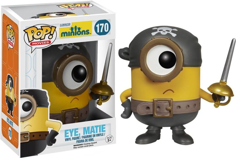Minions: Eye, Matie Funko Pop 170